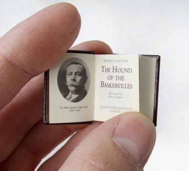 The Hound of the Baskervilles  - Micro Miniatur