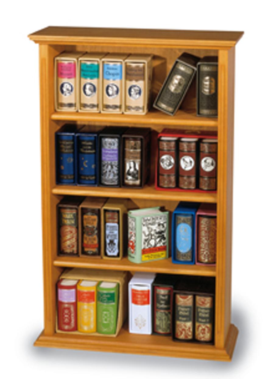 bibliotheks regal holz klein. Black Bedroom Furniture Sets. Home Design Ideas