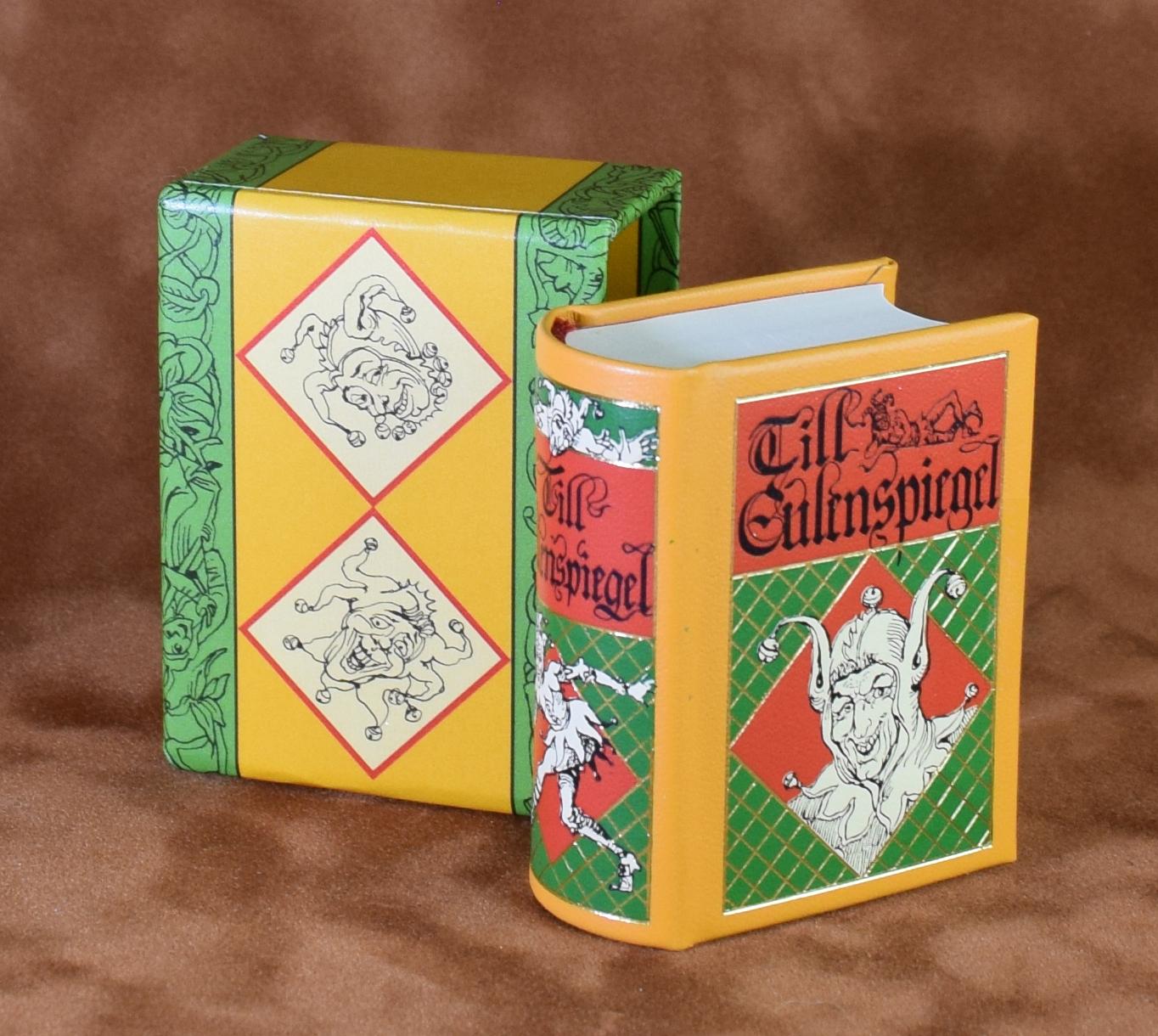 Till Eulenspiegel Prachtausgabe Miniaturbuch Minibuch